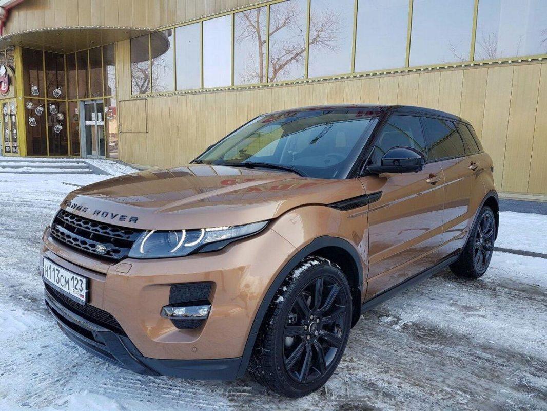 Аренда Range Rover Evoque с водителем