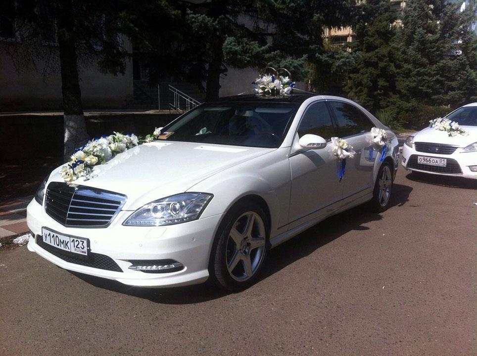 Аренда авто на свадьбу с водителем