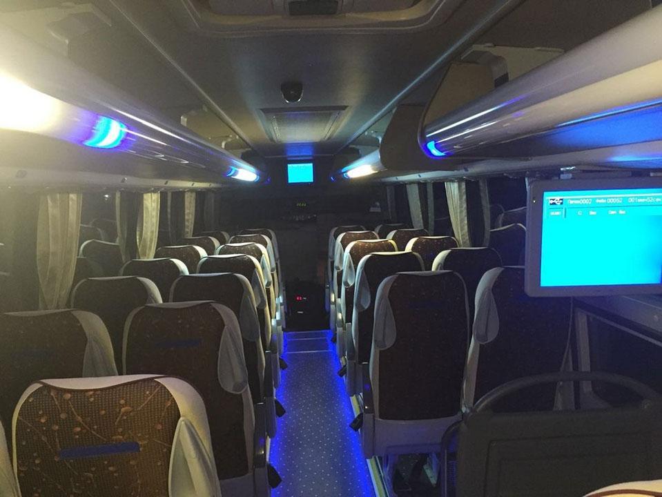 Заказать автобус King Long с водителем