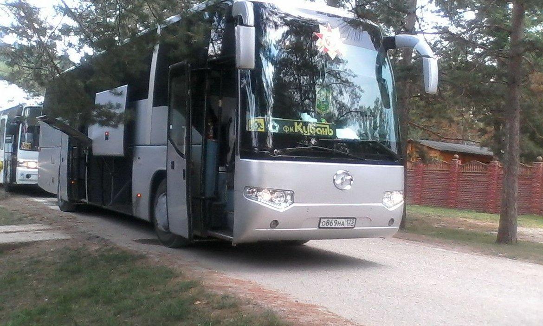 Аренда автобуса King Long с водителем