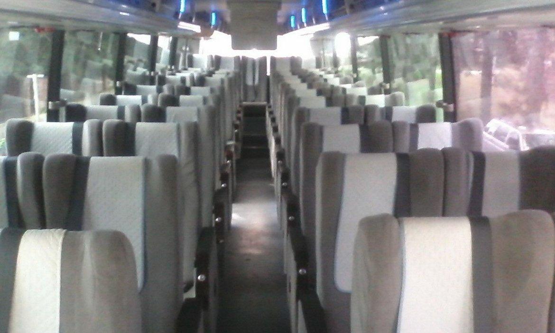 Салон автобуса HIGER