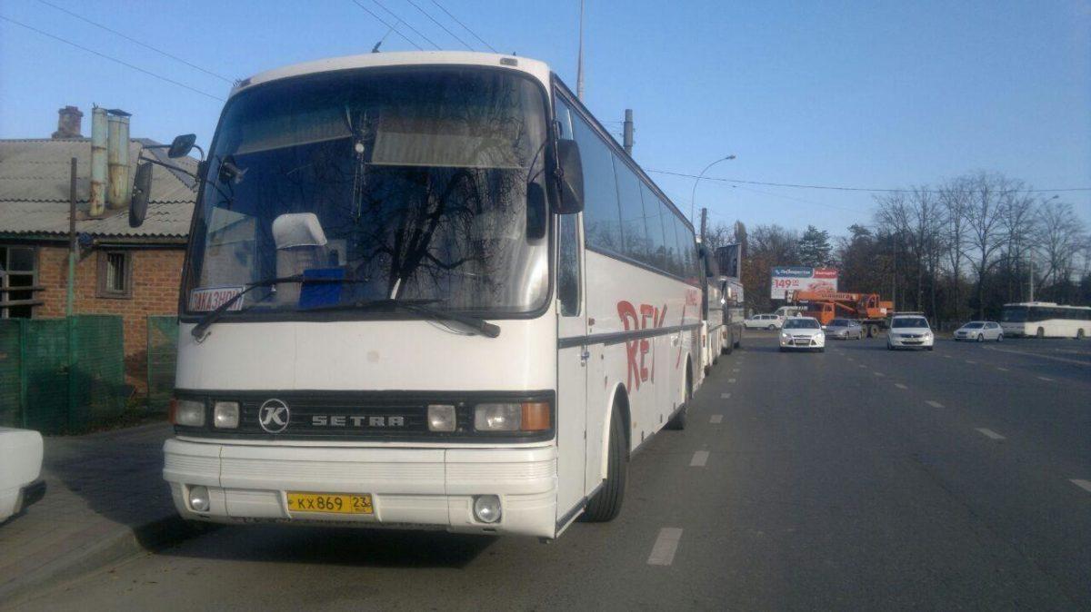 Аренда автобуса Setra с водителем