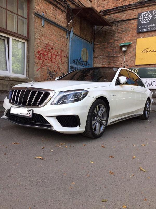 Аренда премиум авто с водителем Mercedes Benz