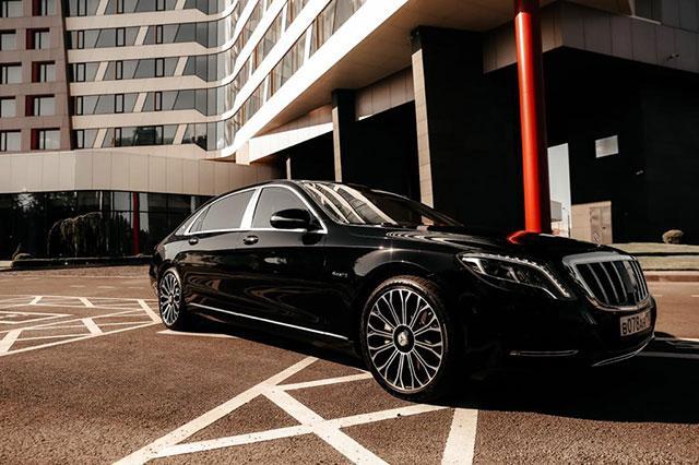 Аренда VIP авто с водителем Mercedes Benz
