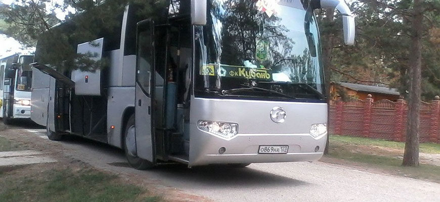 заказать автобус