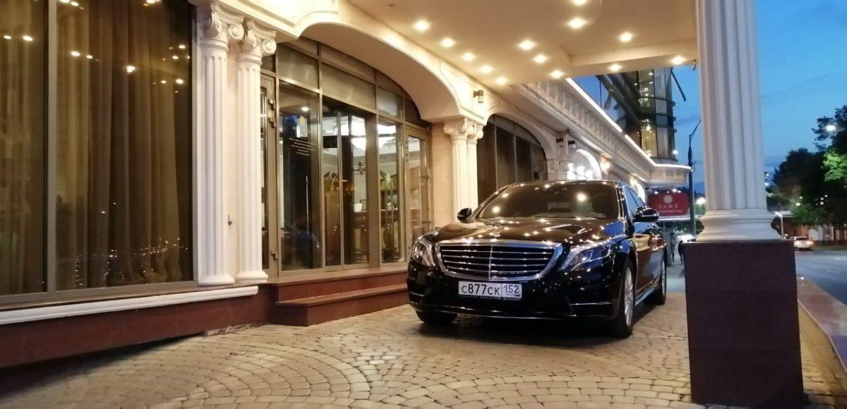 Аренда авто с водителем Mercedes S222