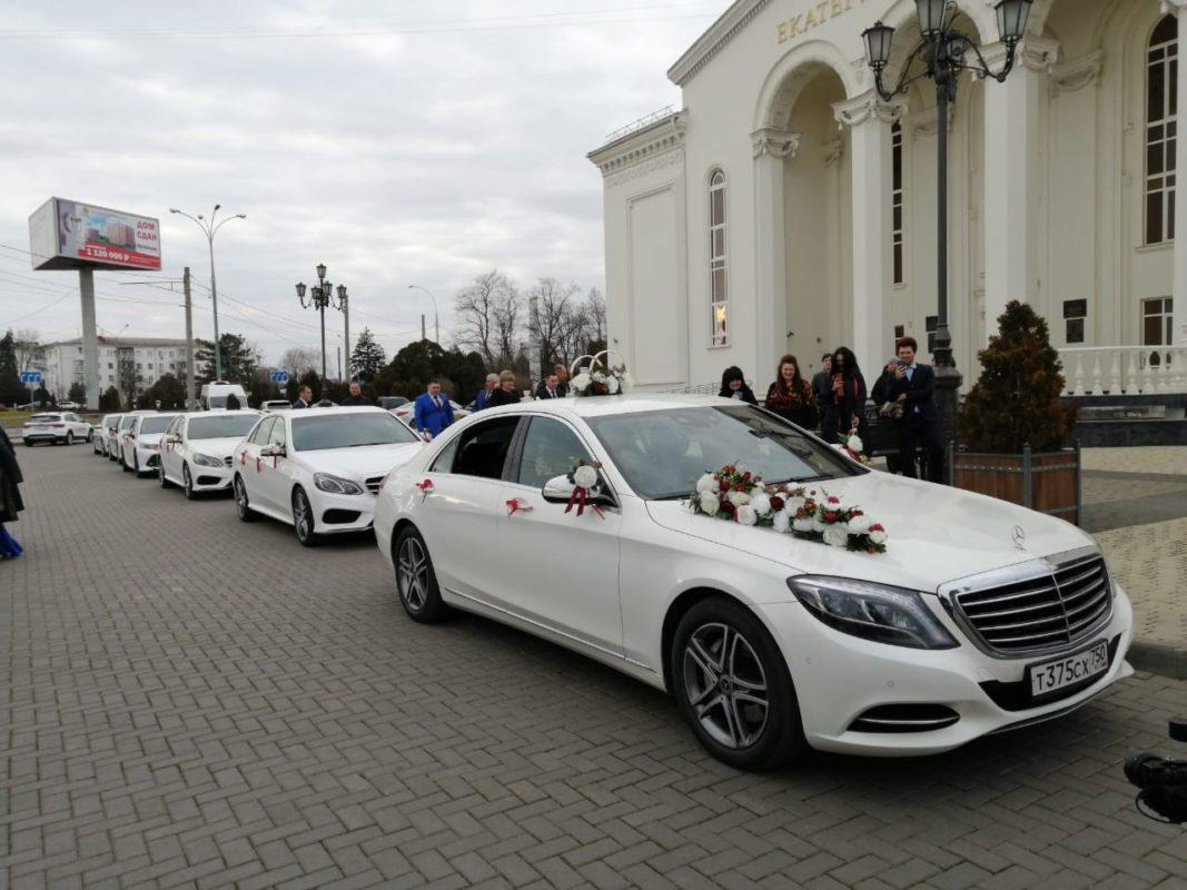 Аренда машины на свадьбу с водителем