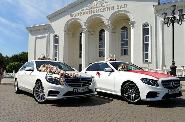Красивая машина на свадьбу с водителем в Краснодаре