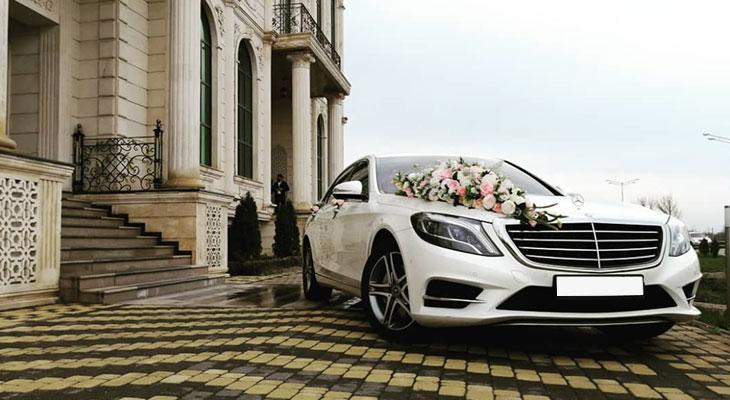 Мерседес на свадьбу с водителем